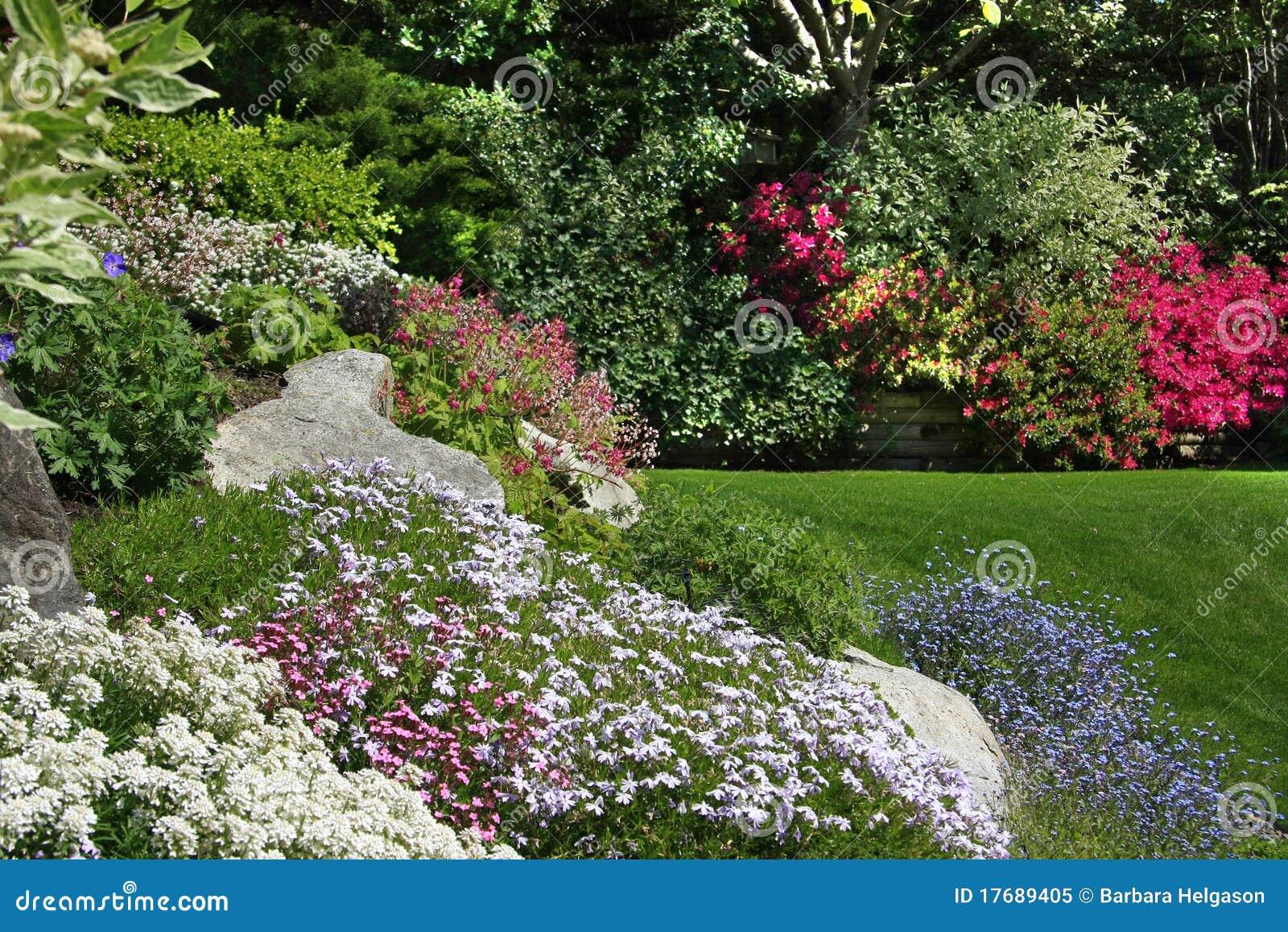 Giardino di roccia fotografia stock libera da diritti - Progetto piccolo giardino ...
