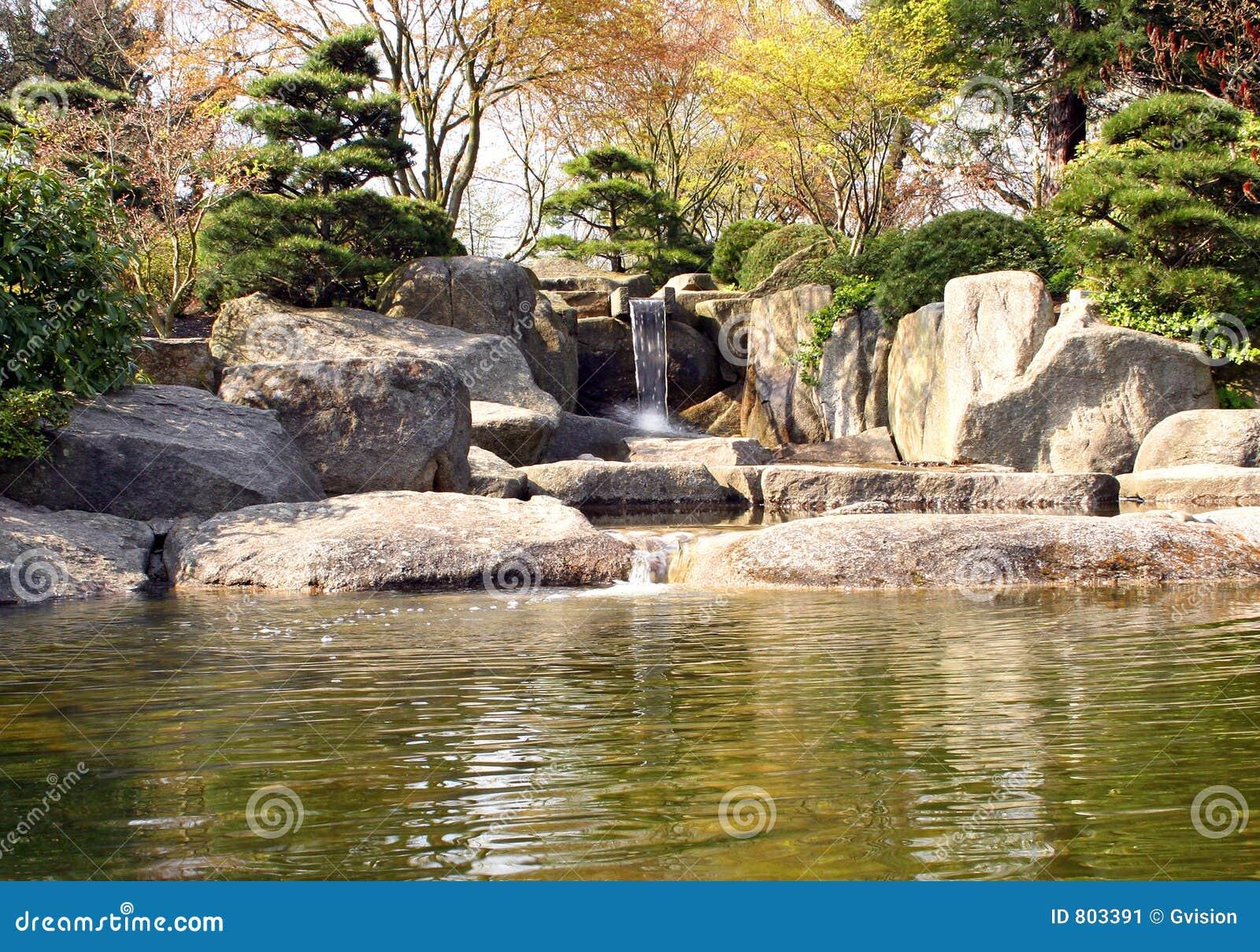 Giardino di roccia giapponese immagine stock immagine di for Giardino orientale