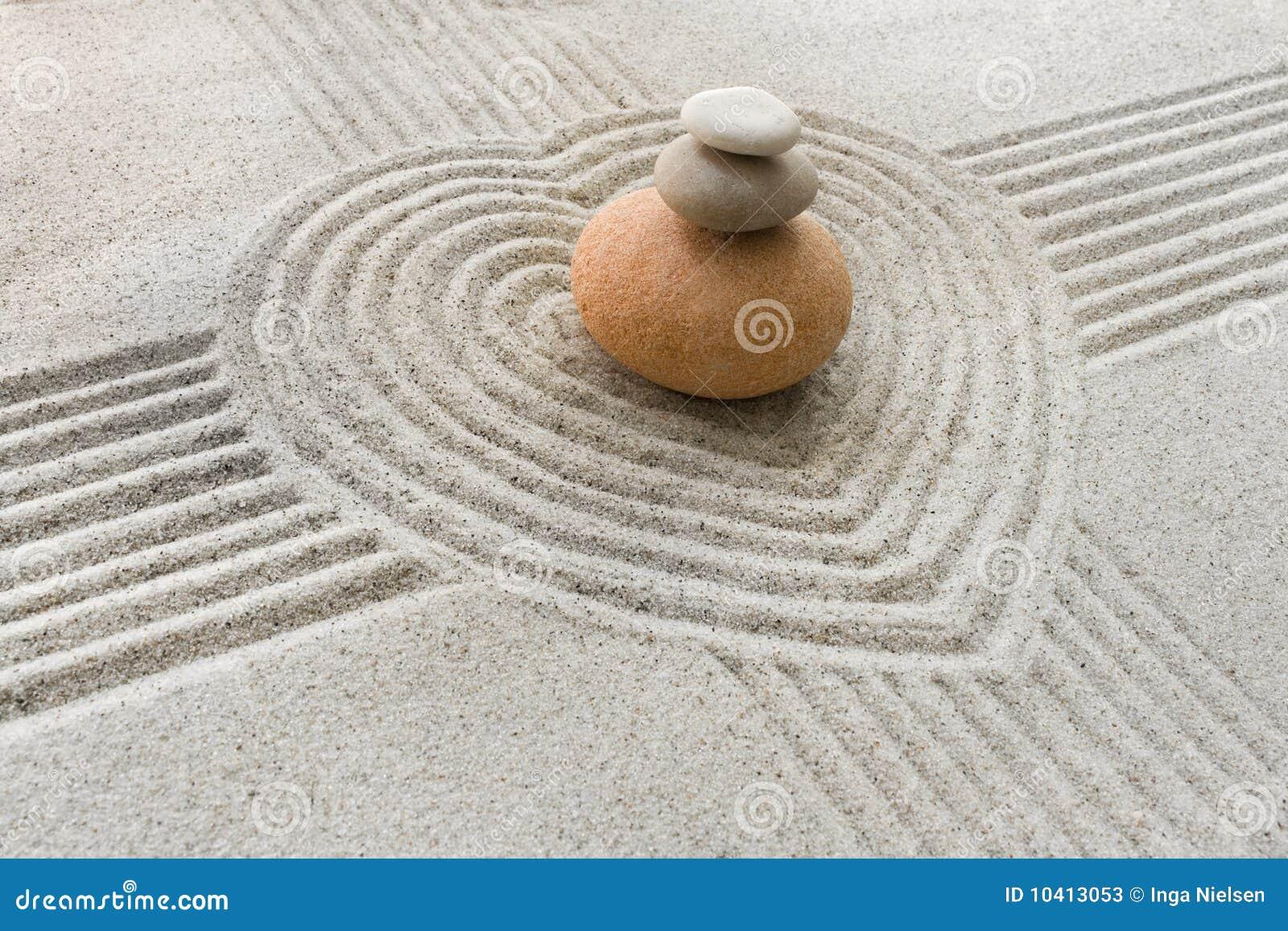 Giardino di zen immagine stock immagine di concetto for Il giardino di zen