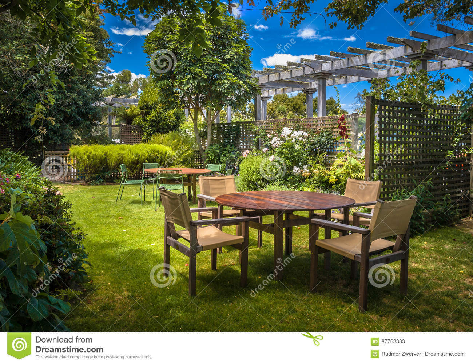 Giardino domestico del cortile