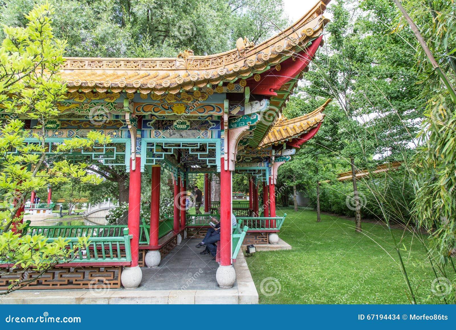 Giardino giapponese tradizionale immagine stock editoriale for Architettura tradizionale giapponese