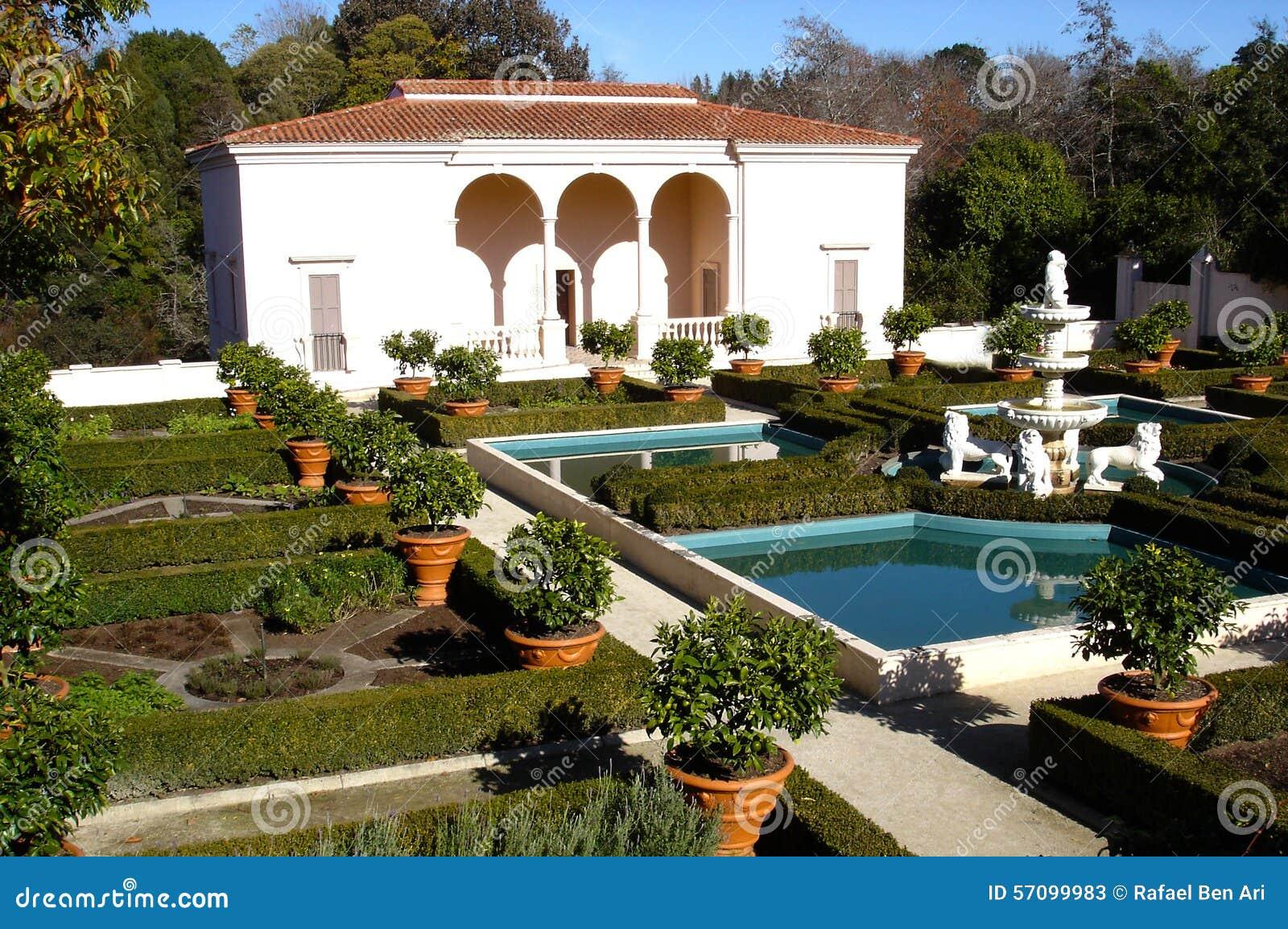 Giardino italiano di rinascita in hamilton gardens new - Il giardino italiano ...