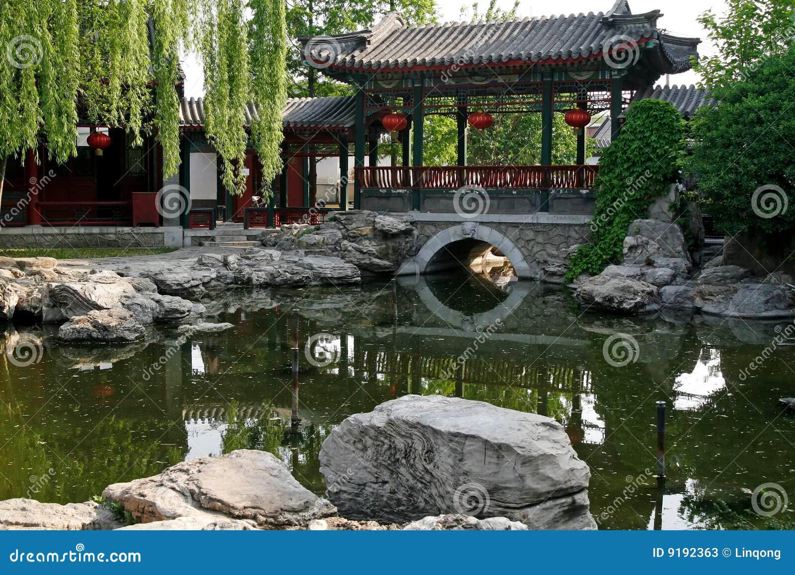 Giardino reale antico cinese fotografie stock immagine for Giardino cinese