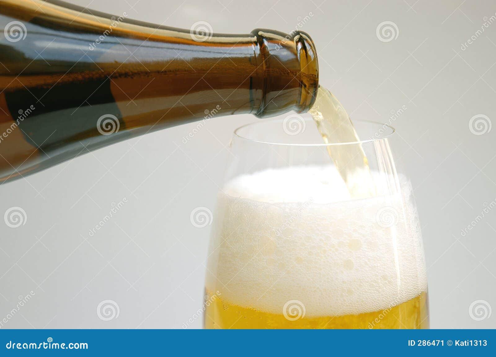 Gietend bier
