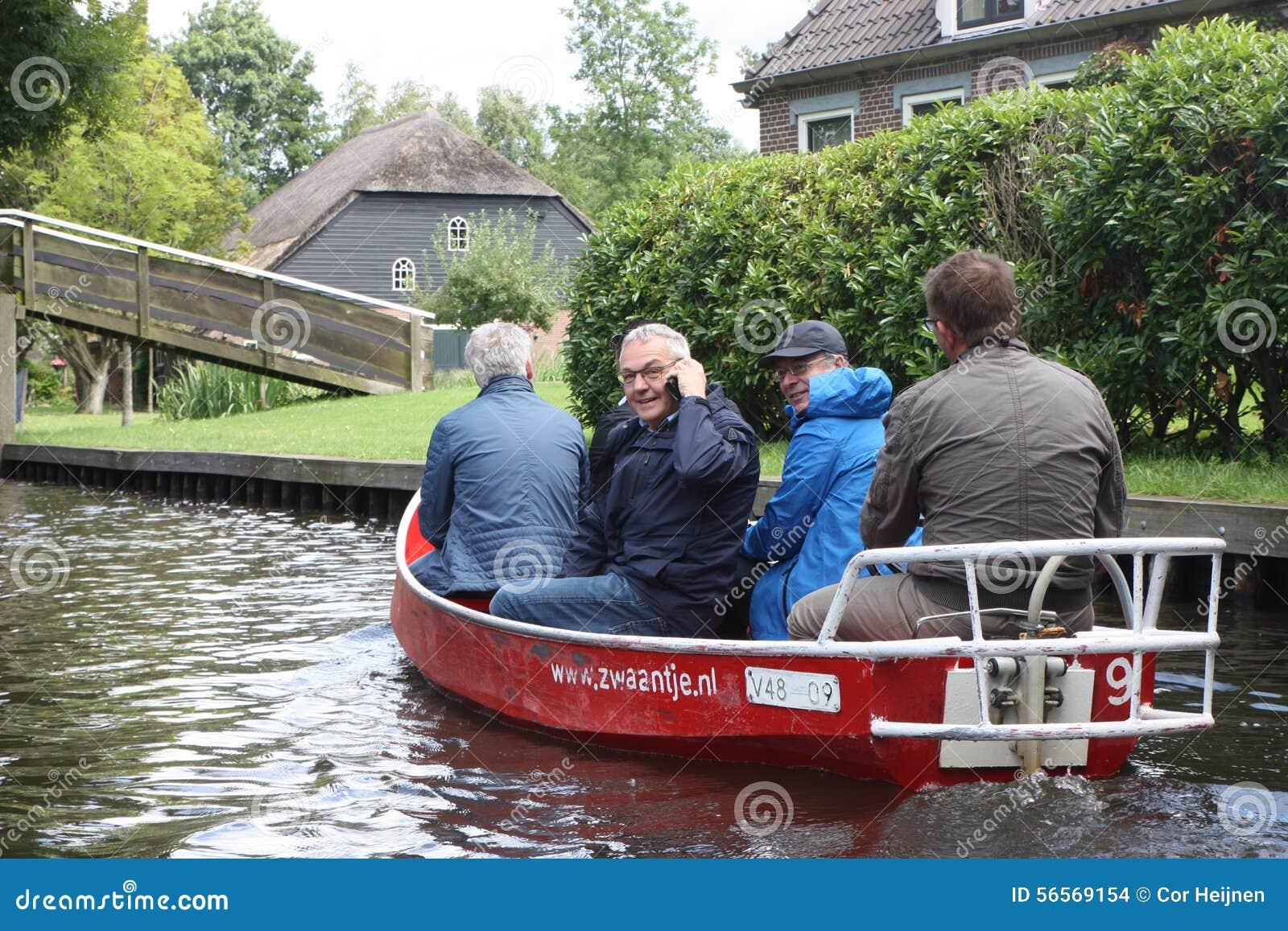 Download Giethoorn η ολλανδική Βενετία Εκδοτική Στοκ Εικόνα - εικόνα από headpiece, netherlands: 56569154