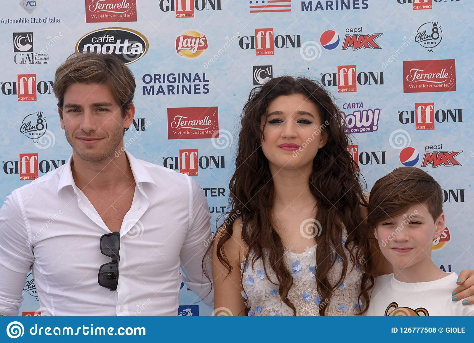 Giffoni Valle Piana, Sa, Italy - July 24, 2018 : Cast Tv