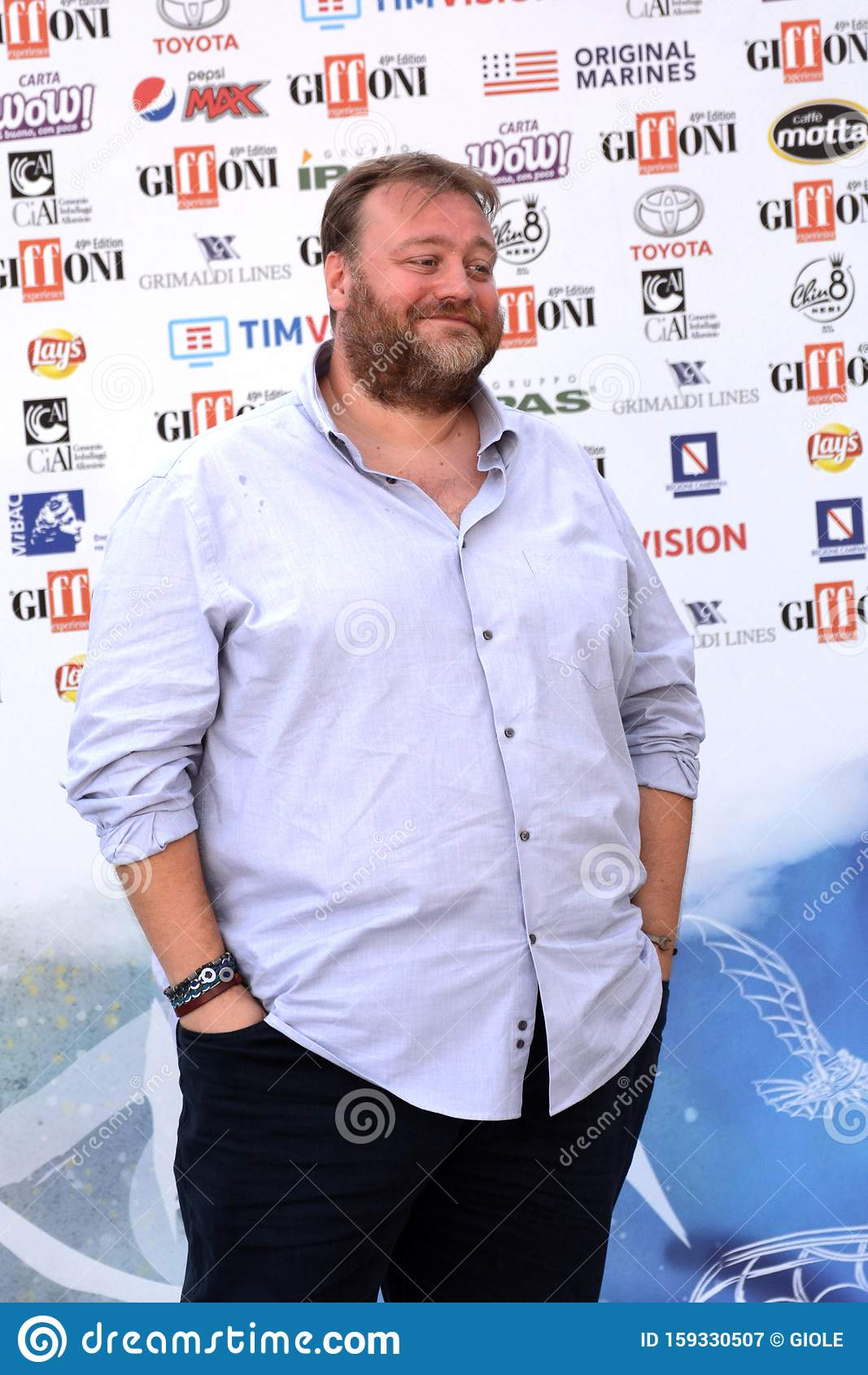 Giffoni Valle Piana, Sa, Italy - July 24, 2019 : Stefano Fresi at Giffoni  Film Festival 2019 Editorial Photography - Image of giffoni2019,  giffonifilmfestival: 159330507