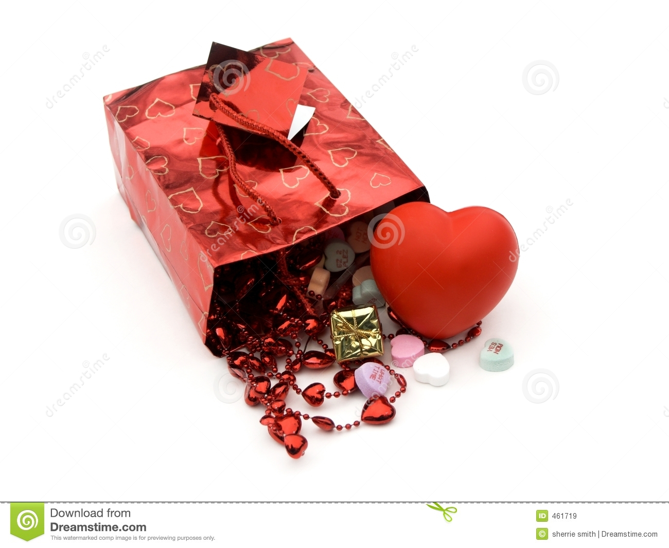 Download Gift bag,presents 3 stock image. Image of bag, closeup - 461719