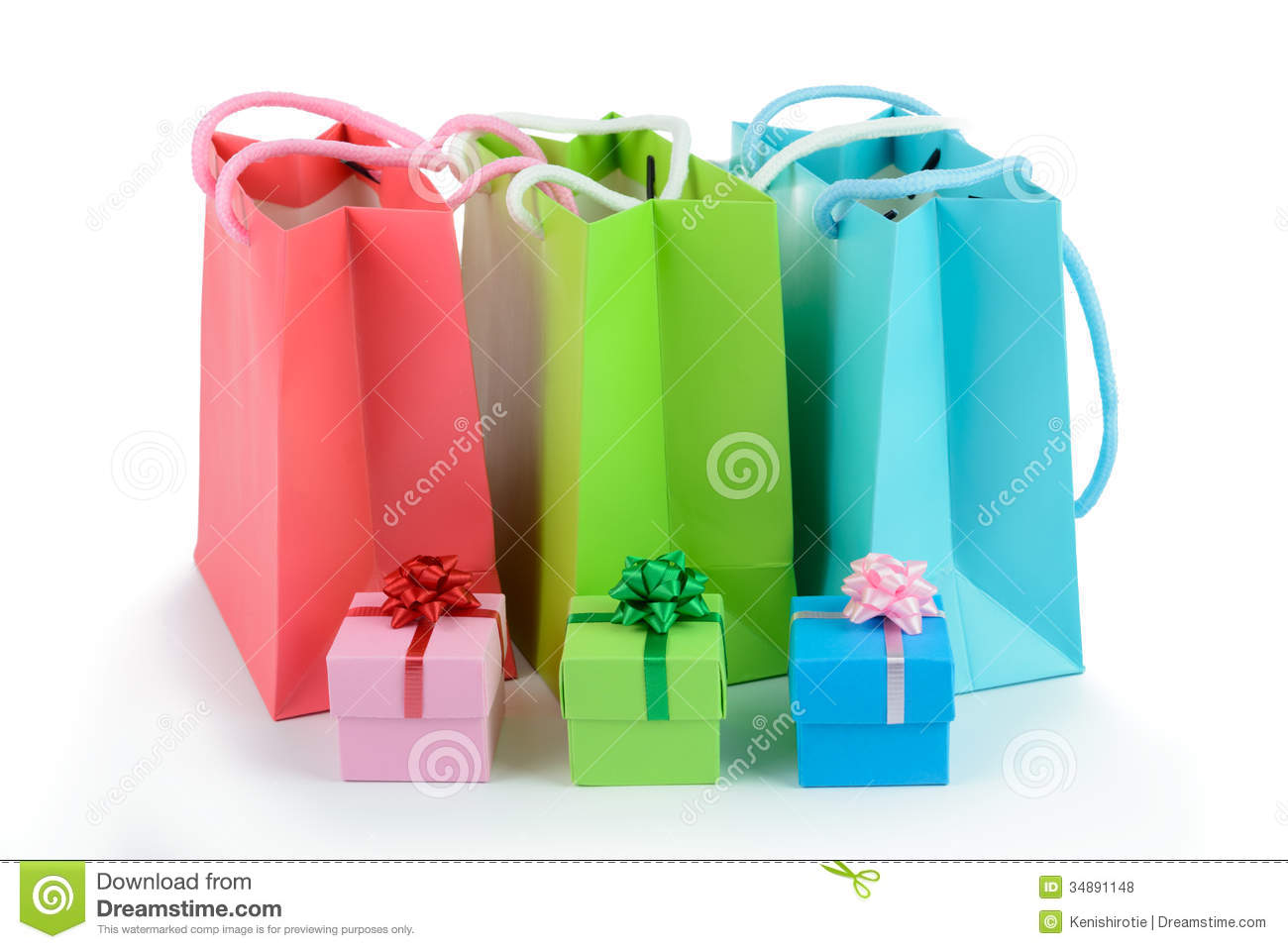 Gift bags and gift boxes stock photo image of birthday 34891148 royalty free stock photo negle Choice Image