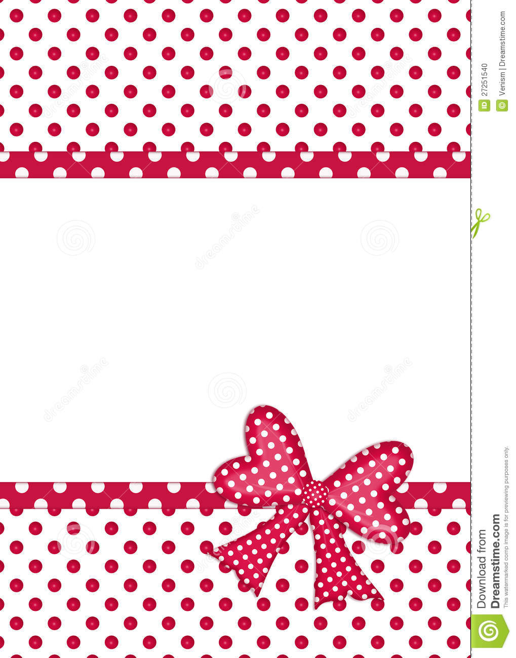 Gift Bow And Ribbon Borders Stock Photo - Image: 27251540