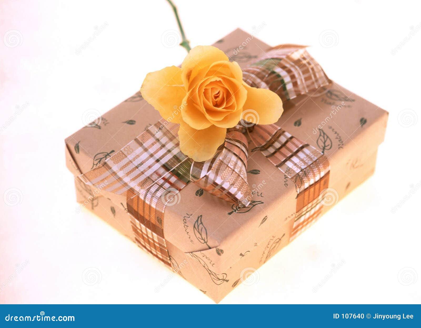 Download Gift Box stock photo. Image of paper, celebration, ribbon - 107640