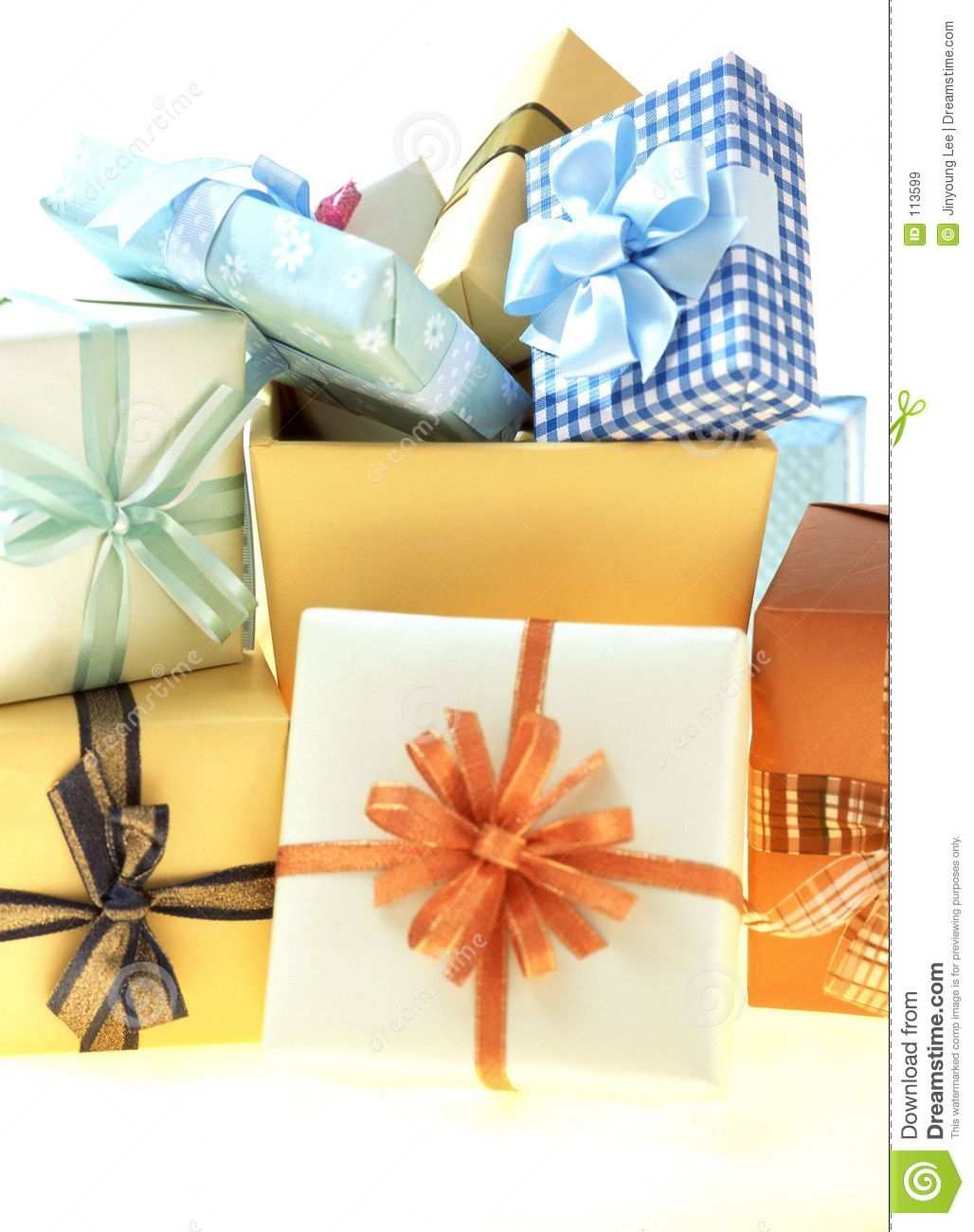 Download Gift Box stock image. Image of celebration, wrapping, birthday - 113599