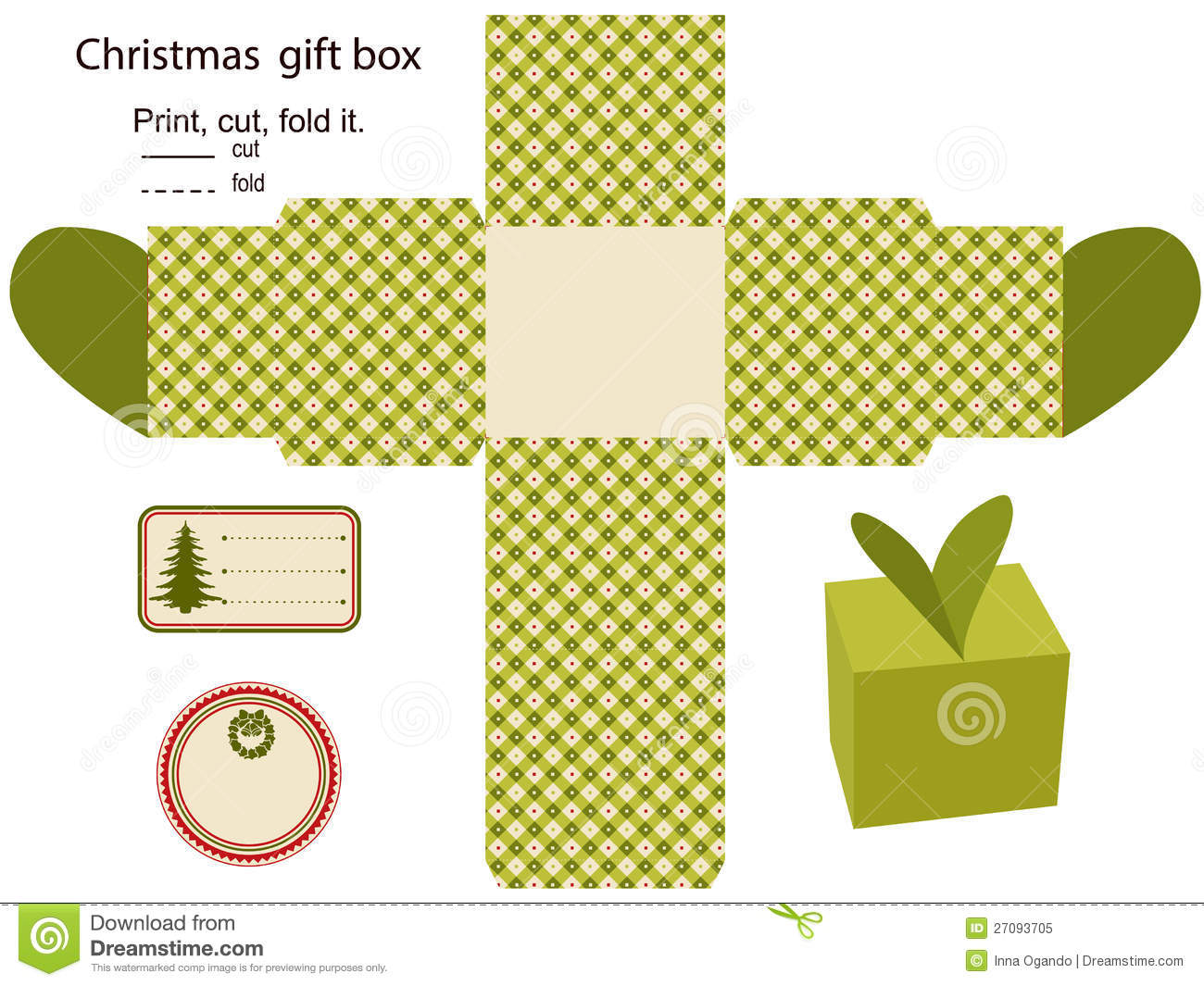 Gift box royalty free stock photo image