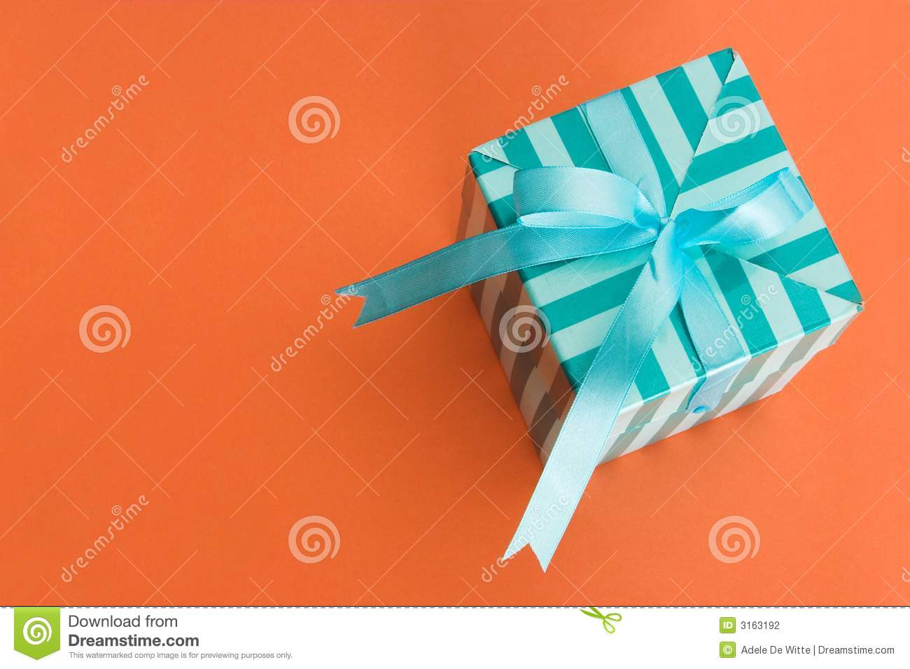 Gift box stock photo  Image of wrapping, sale, mysterious