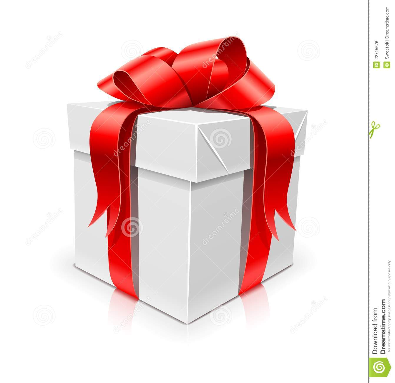 Best gift box with bow blue tie jewelry