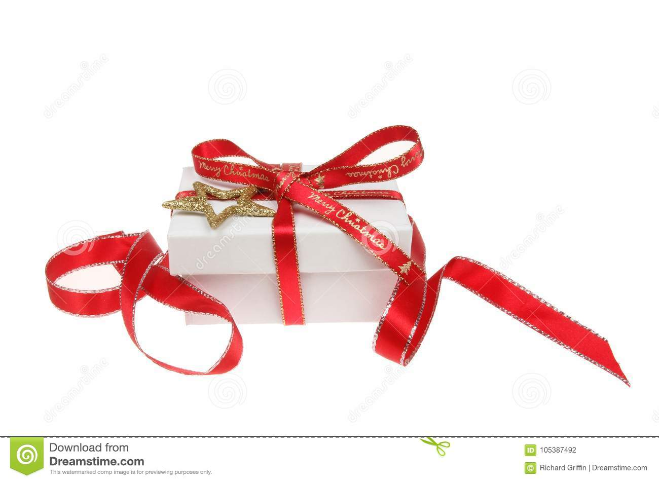 Gift box decoration