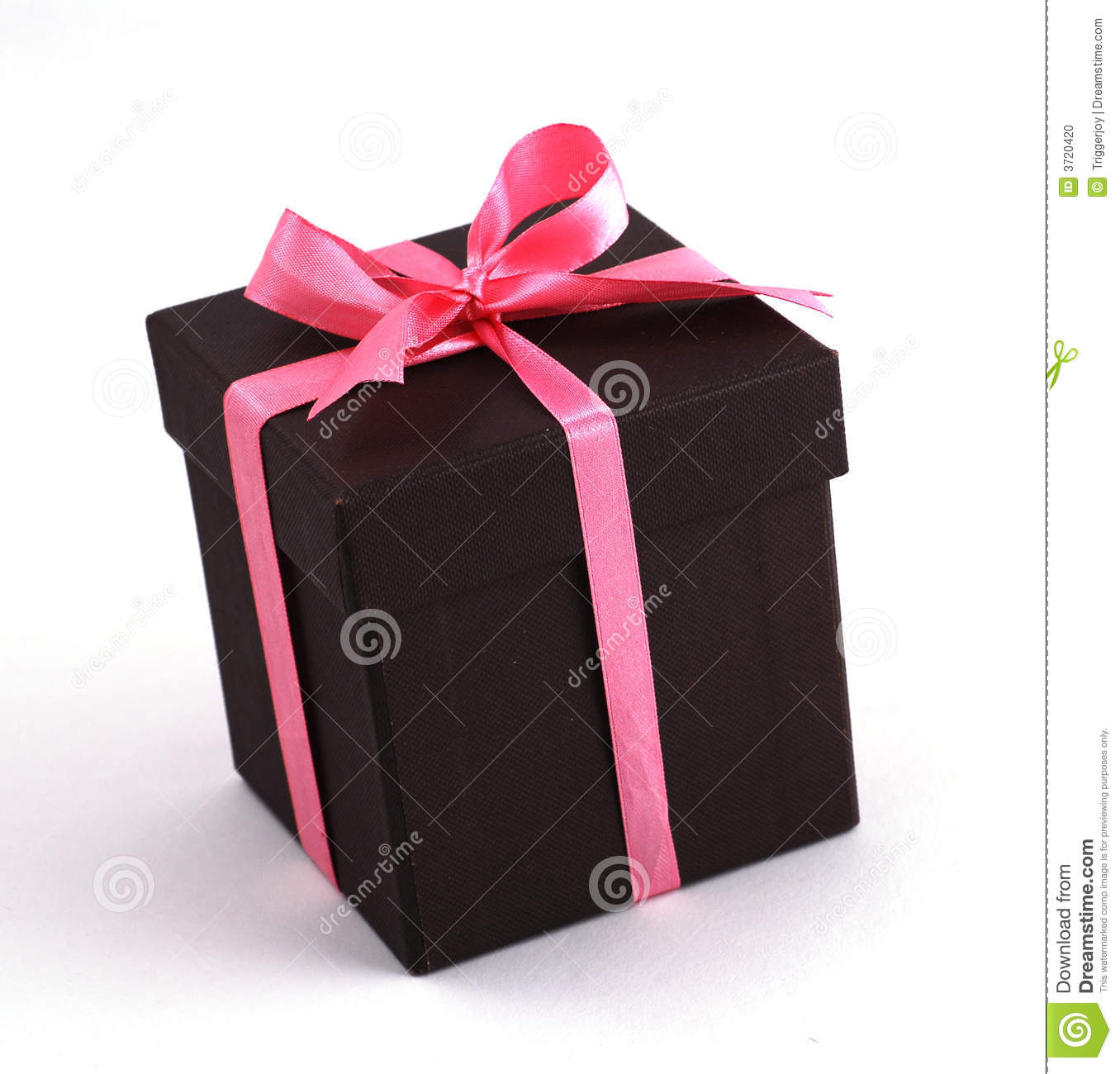 Gift Box with Pink ribbons