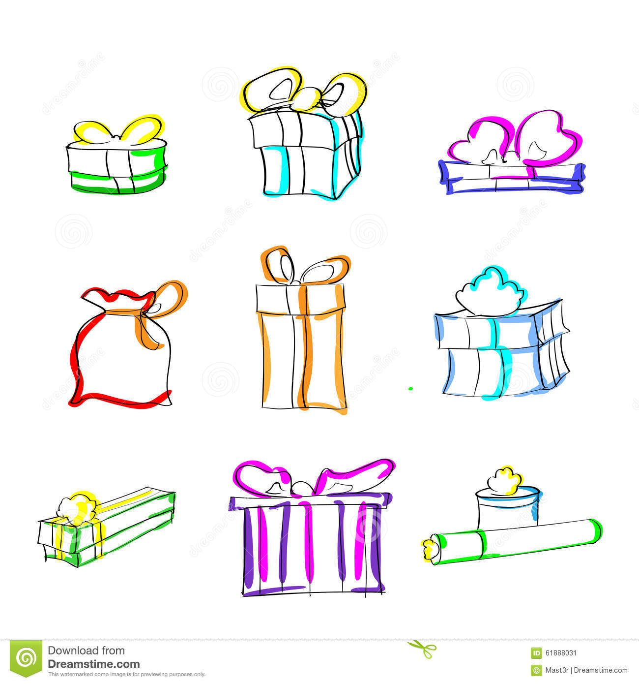 Pictures Of Birthday Present Box Drawing Kidskunst Info