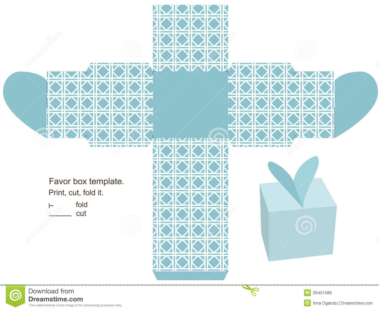 Gift Box Template Royalty Free Image Image 26401586 – Template for Gift Box