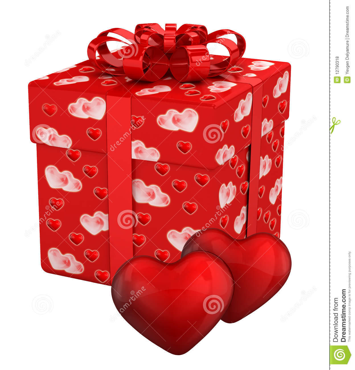 Gift Box For Valentine's Day Presents Royalty Free Stock Photos ...