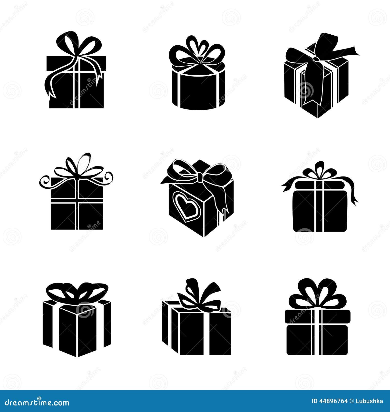 Gift box     Vector ic...
