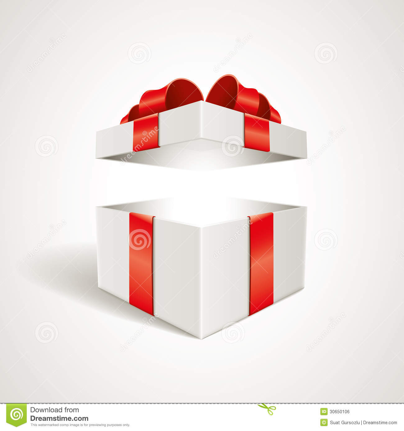 Gift box stock vector image of wrap design present 30650106 gift box royalty free stock photo negle Gallery
