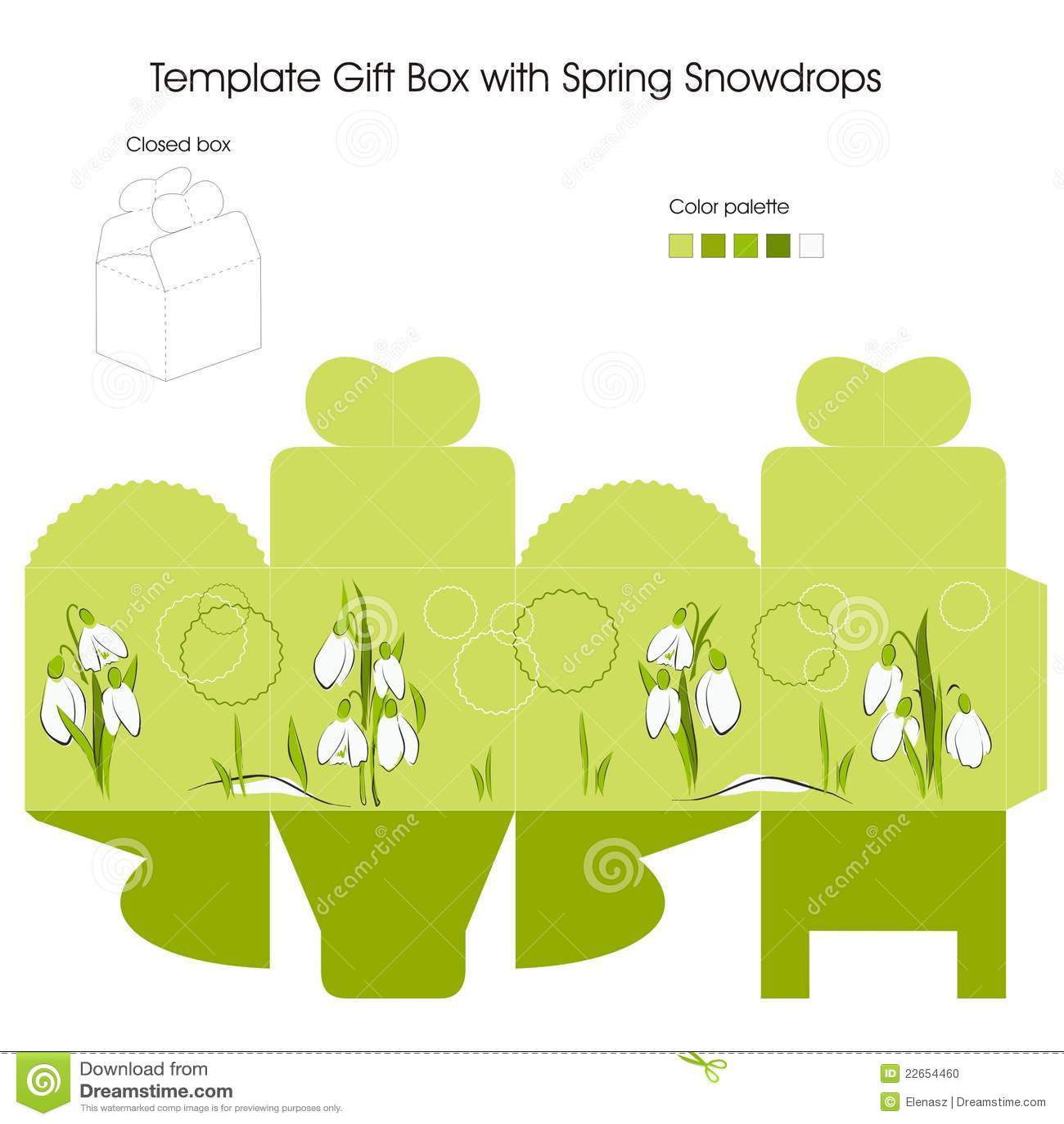 Gift Box for Wedding Favors