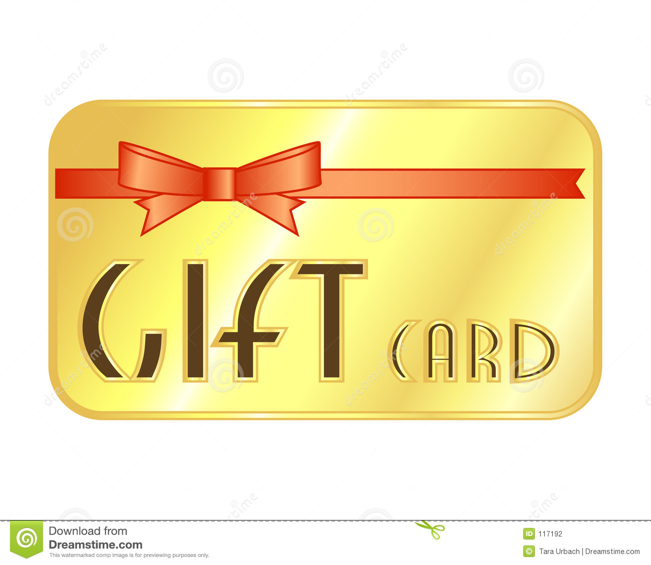 It is a graphic of Selective Gift Certificate Clip Art