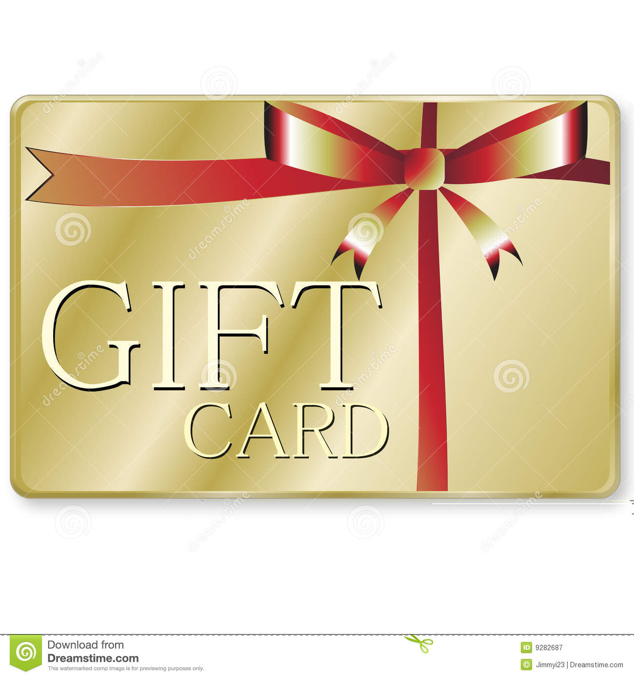 Gift Card Royalty Free Stock Photography - Image: 9282687