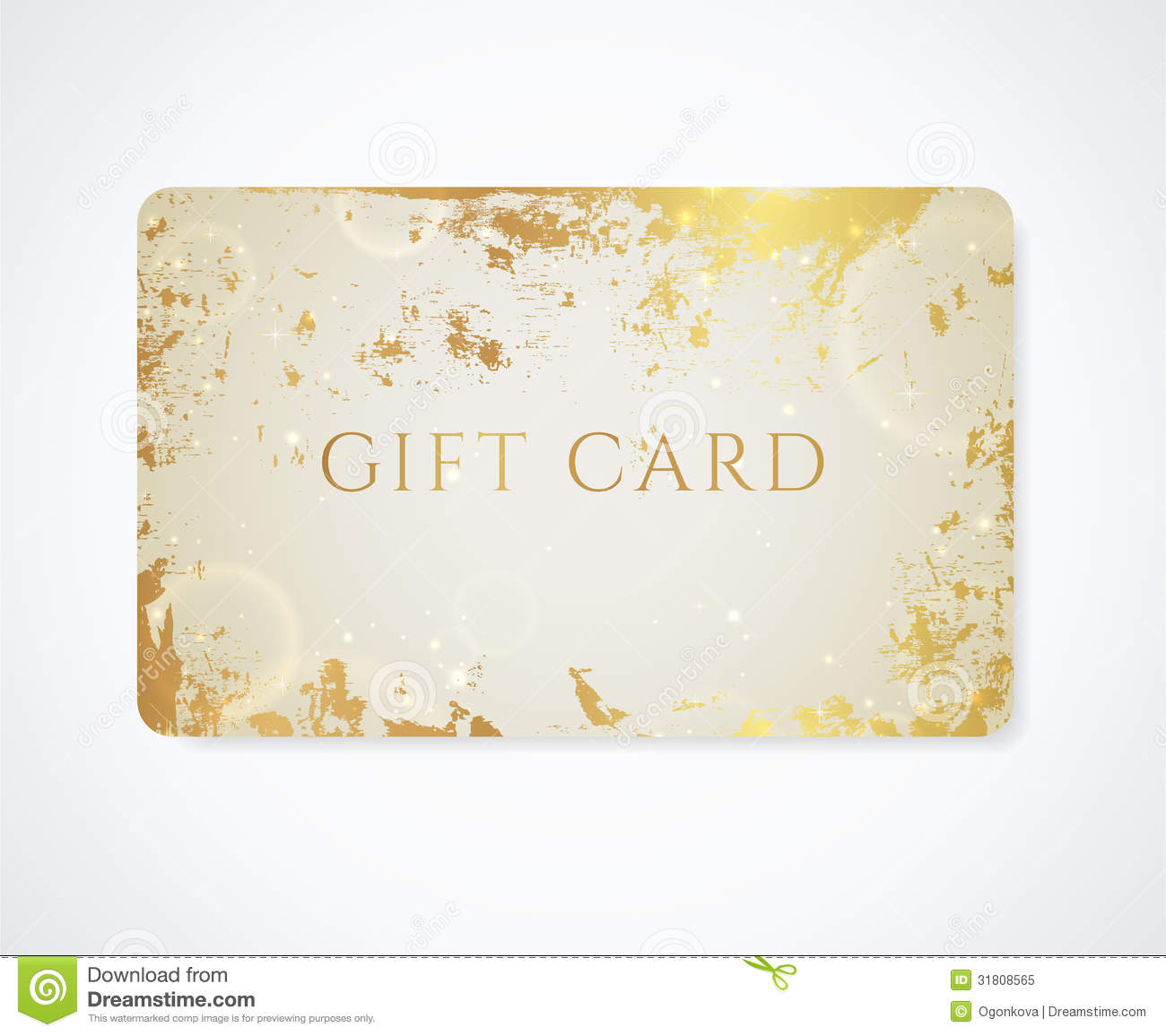 Gift card discount card business card stars stock photos gift card discount card business card grunge royalty free stock photo negle Gallery