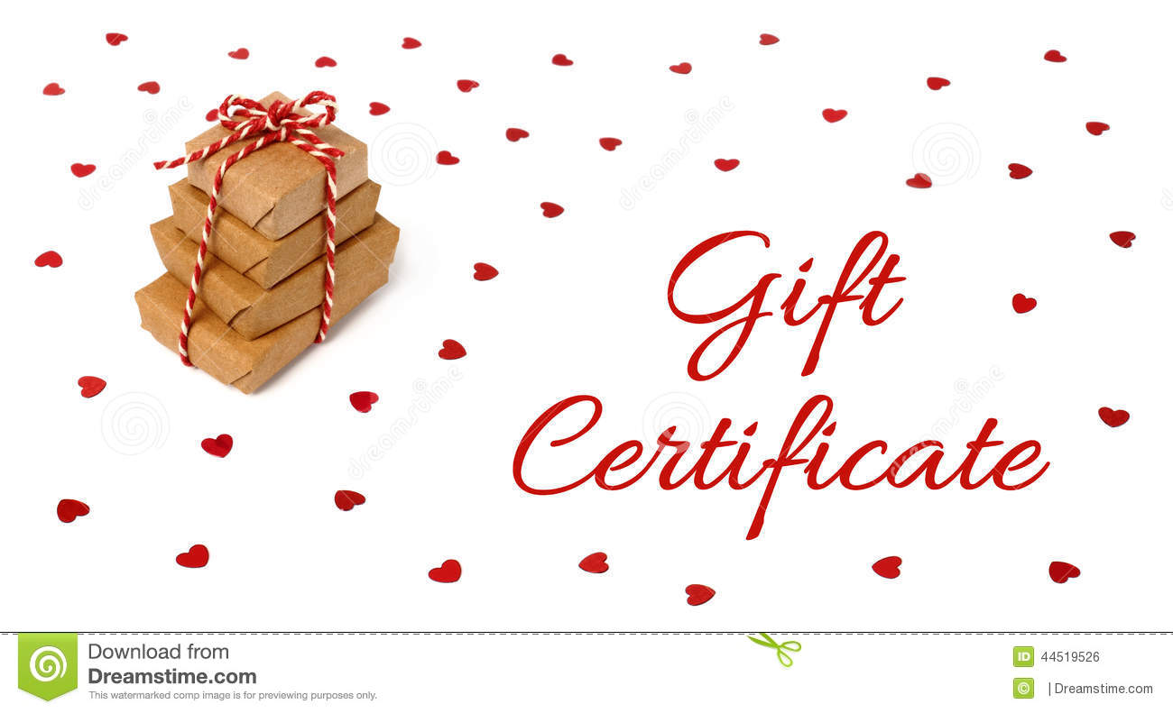 gift certificate christmas gift card design stock photo image gift certificate christmas gift card design