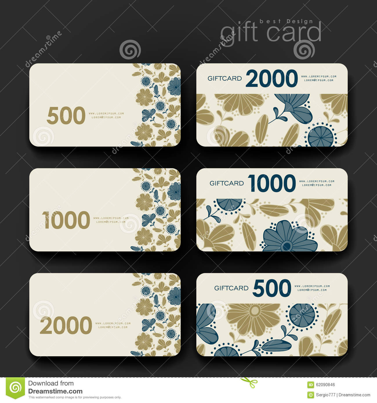 Discount coupons for floral purchases