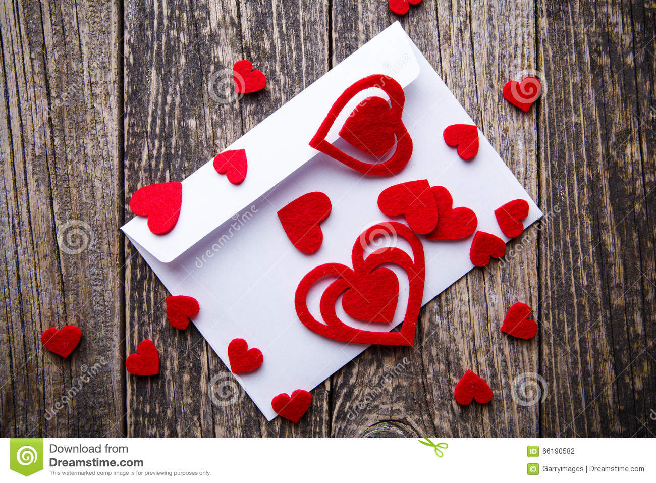 Gift For Girlfriend On Valentine S Day Stock Photo Image Of
