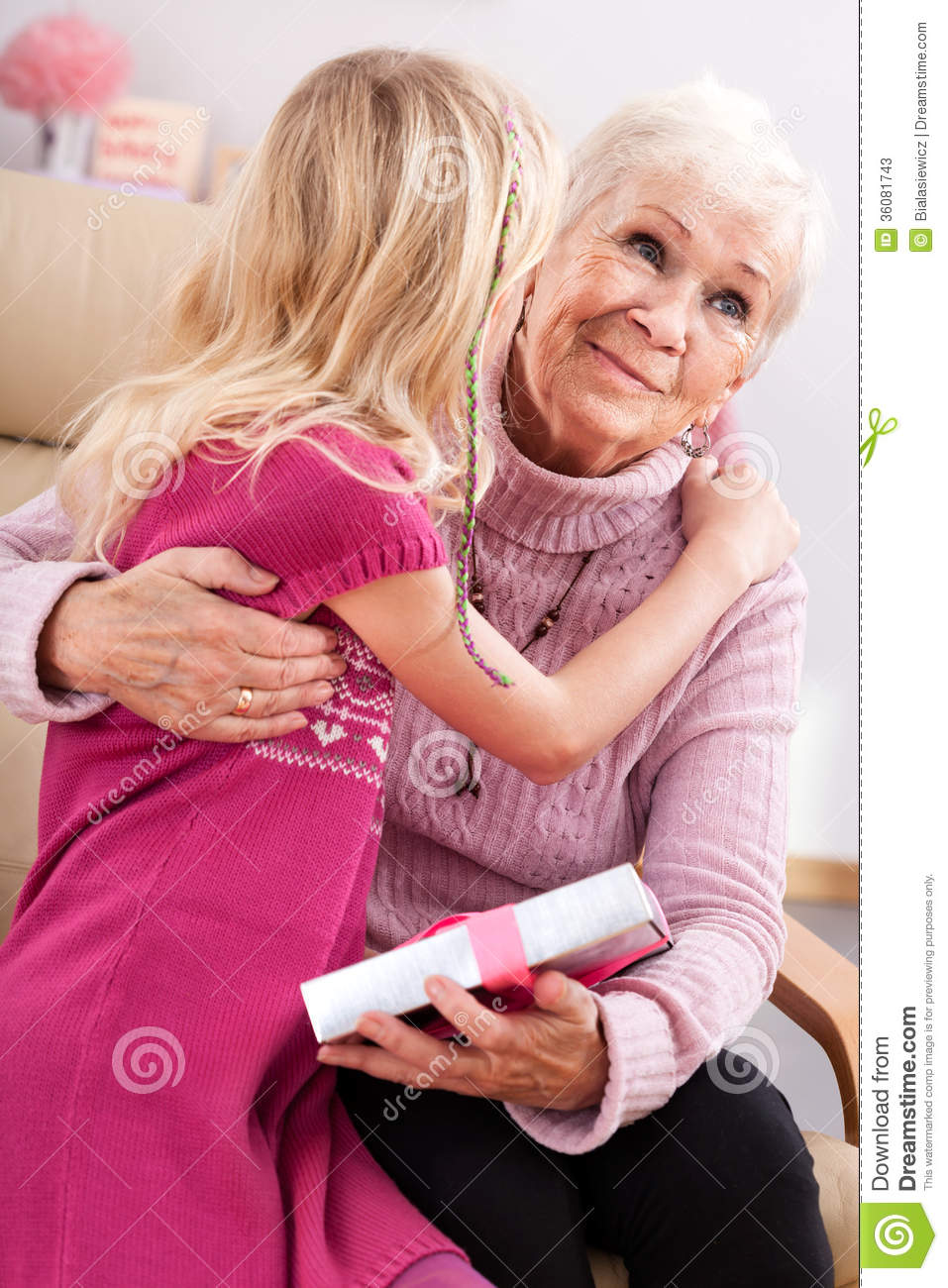 Gift for grandma stock photos image 36081743 for What to give grandma for her birthday