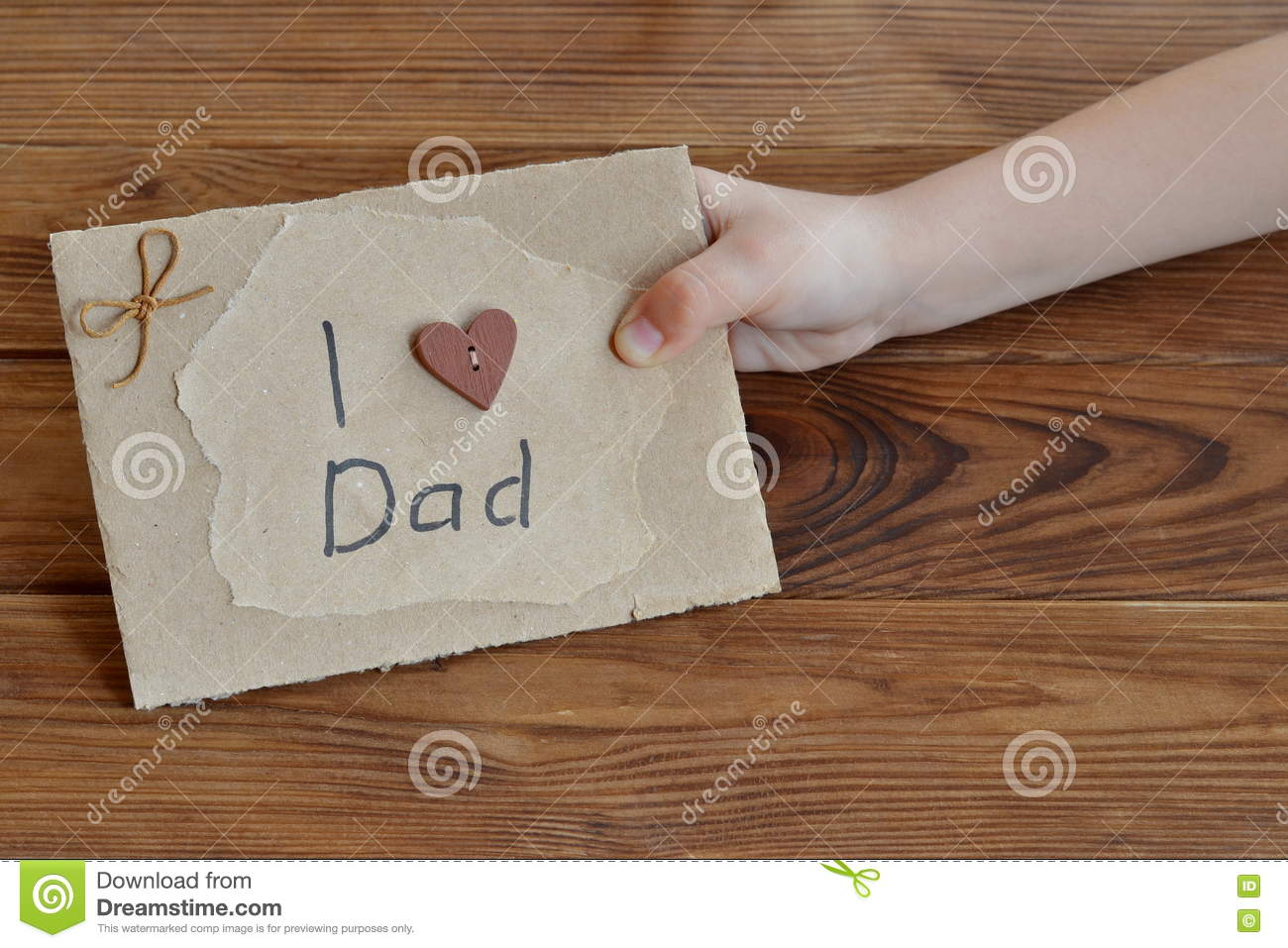 Gift Idea For Dad From Daughter Stock Photo Image Of