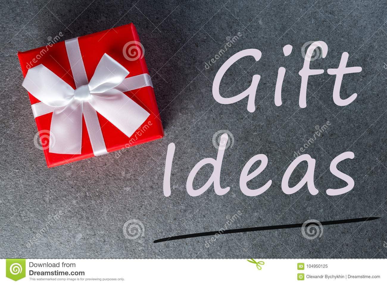Gift Ideas Thinking About New Year Christmas And Valentine Day