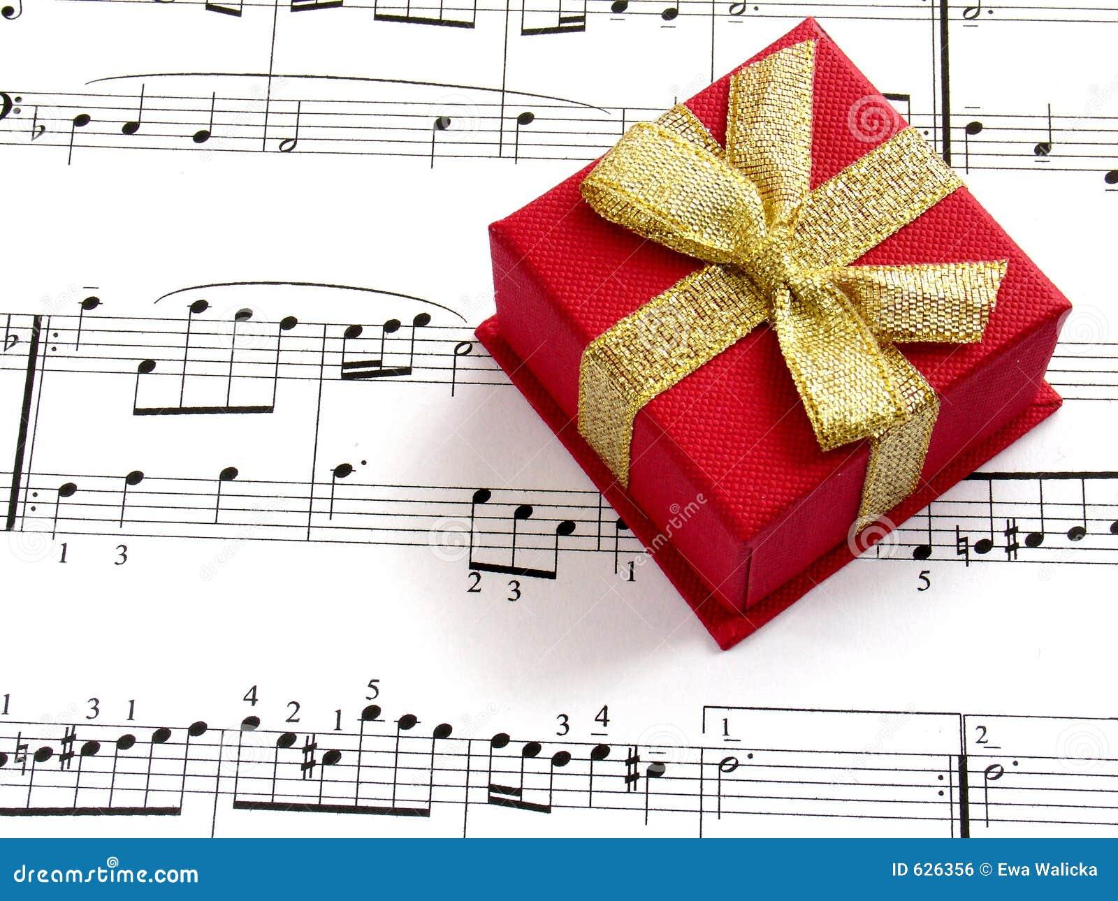 Gift Of Music Royalty Free Stock Image Image 626356