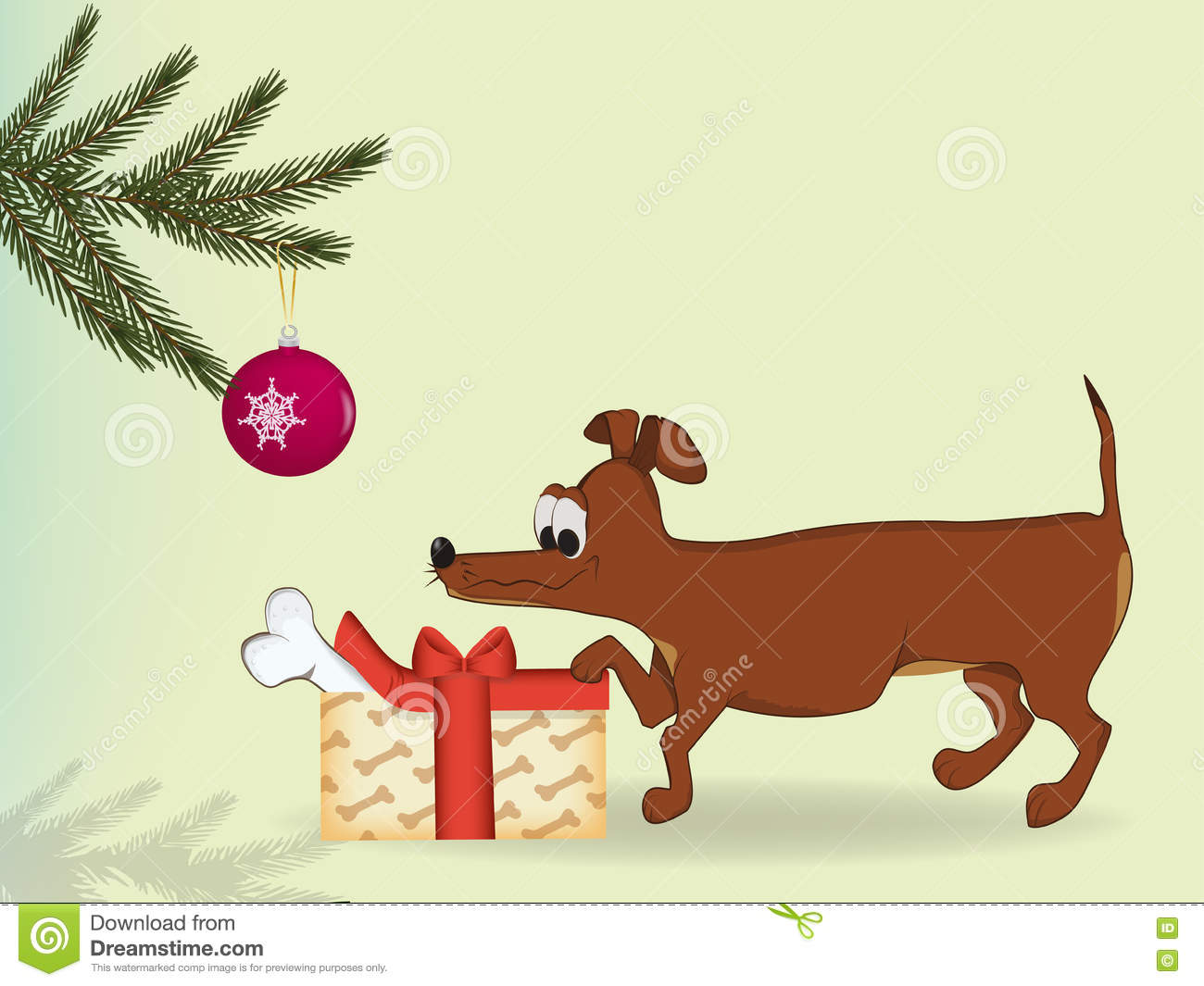 Gift for a pet stock vector. Illustration of domestic - 81967276