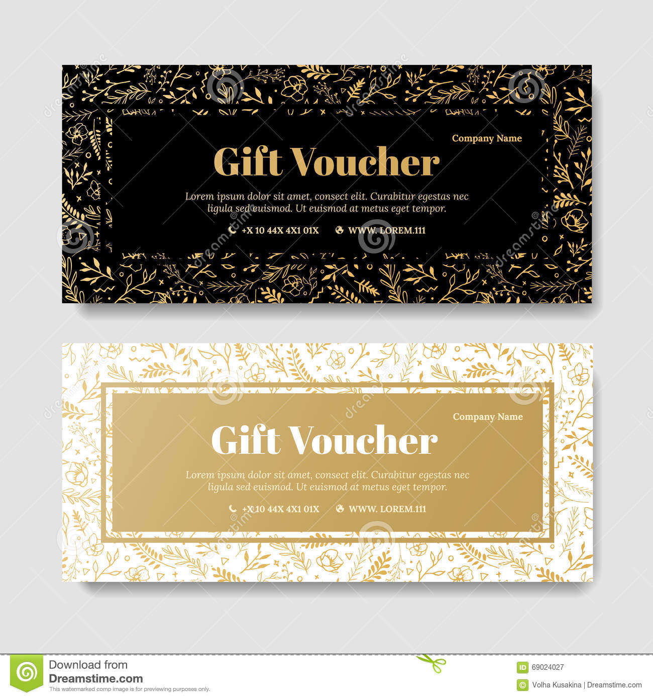 Gift premium voucher coupon template stock illustration gift premium voucher coupon template royalty free illustration yadclub Image collections