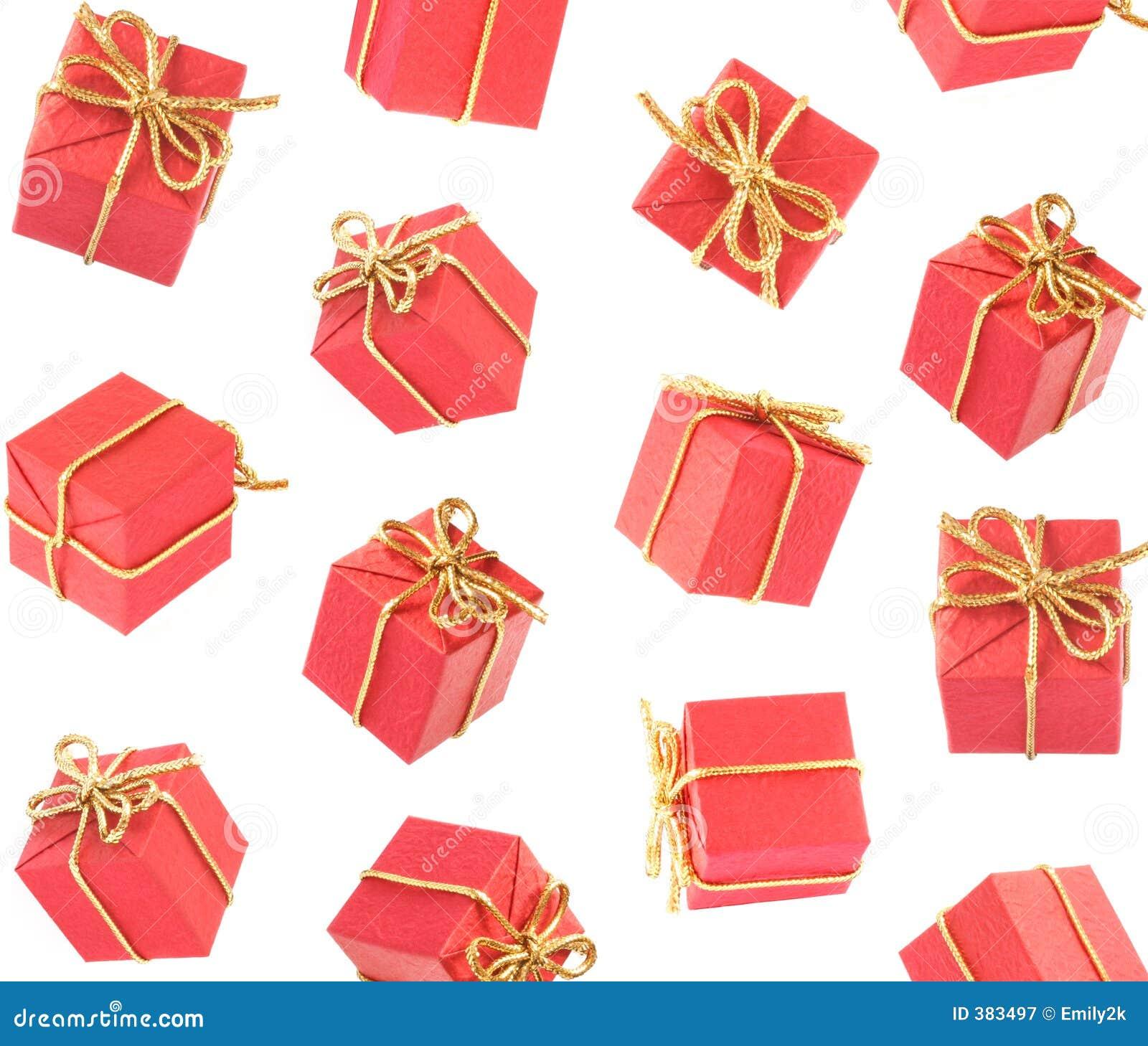 Gift Raining Royalty Free Stock Photography - Image: 383497