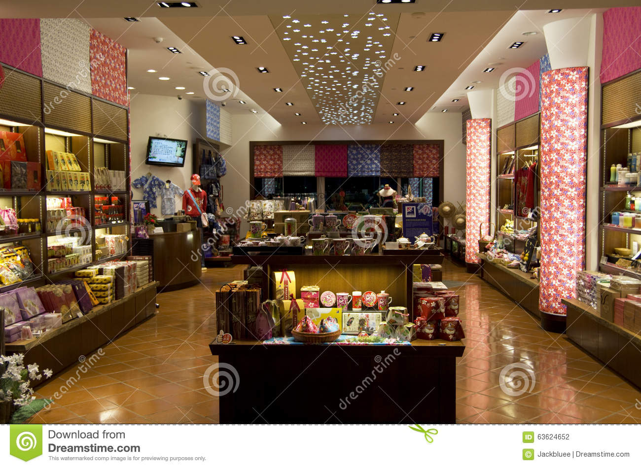Gift shop interior editorial photography image of taoyuan for Interior design gifts