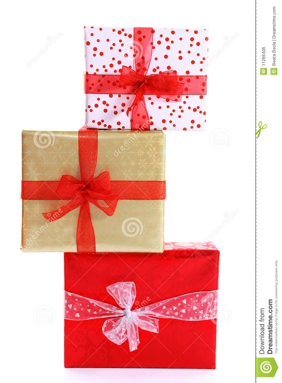 Gift stack royalty free stock image