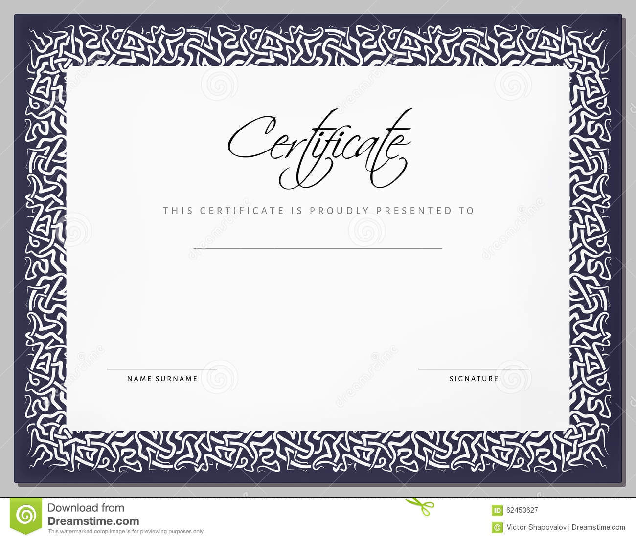 Vintage gift certificate template 28 images voucher template vintage gift certificate template royalty free stock photography gift vintage certificate yadclub Choice Image