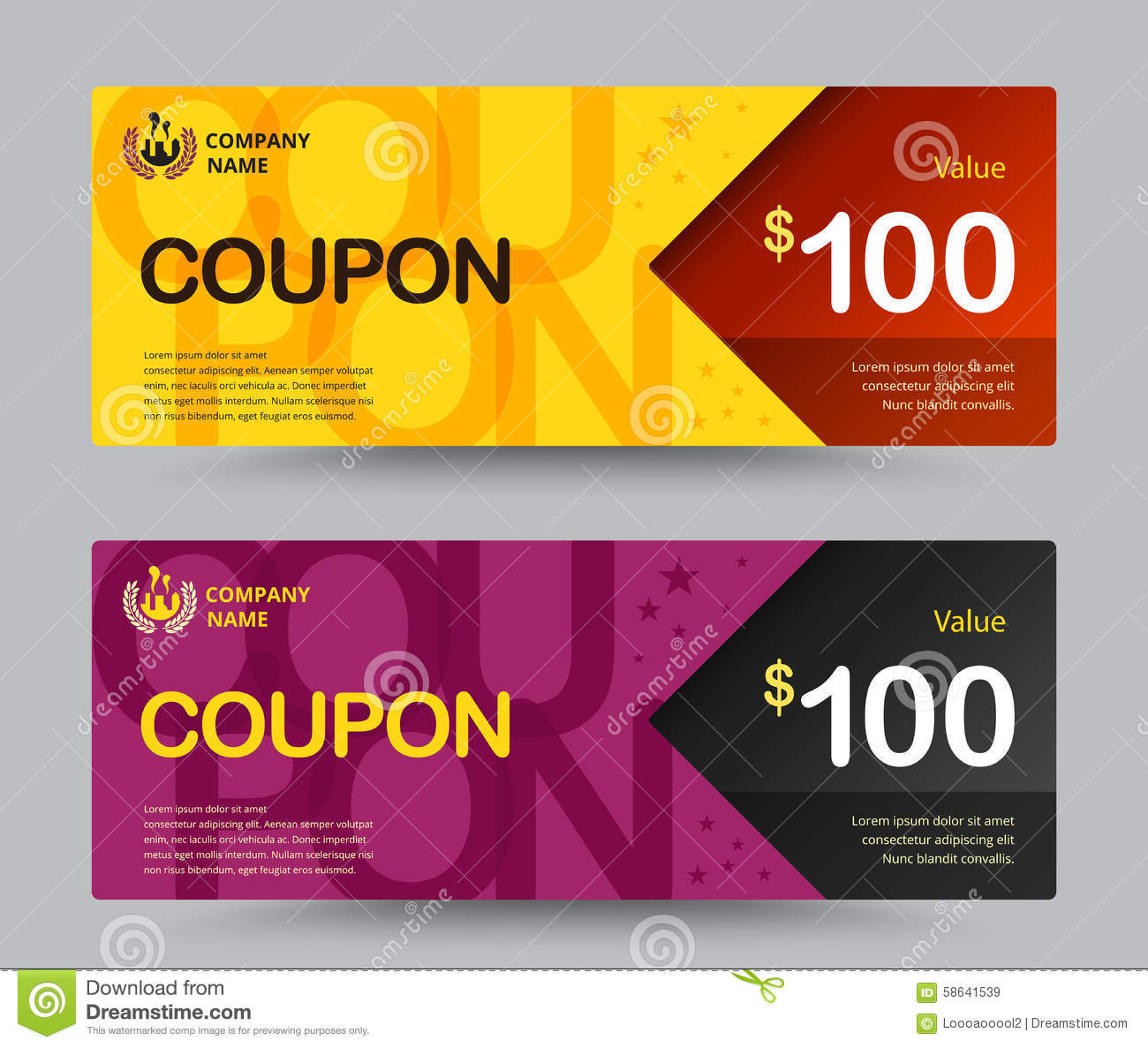 What is a temporary payment coupon