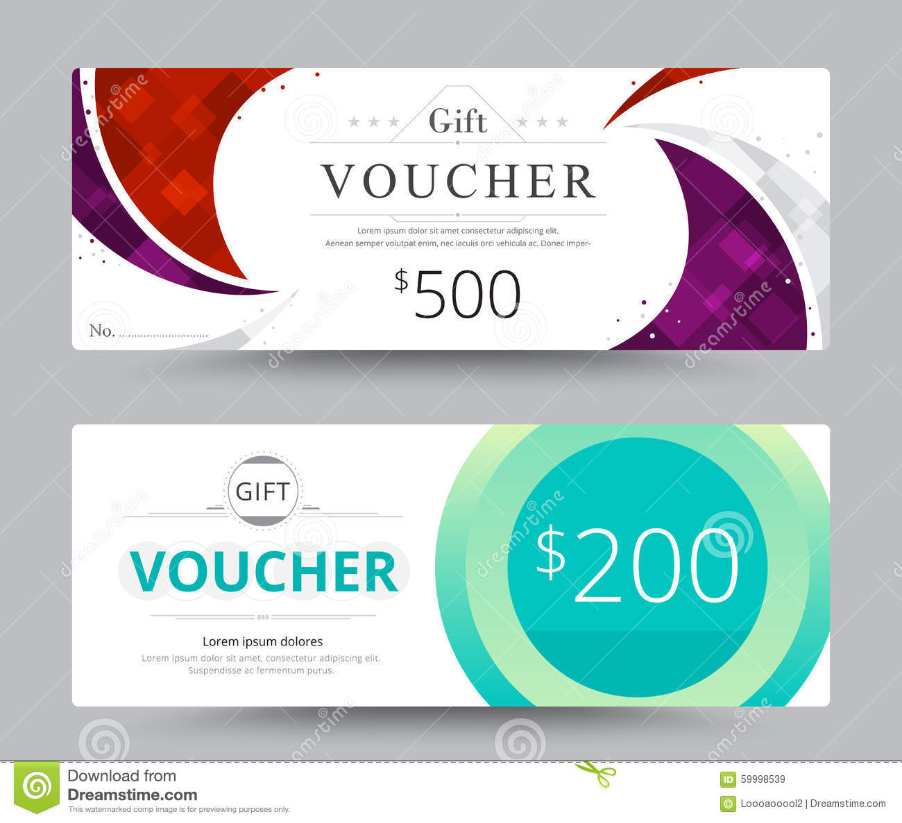 Koala Art And Design Discount Code : Gift voucher card template design for special time