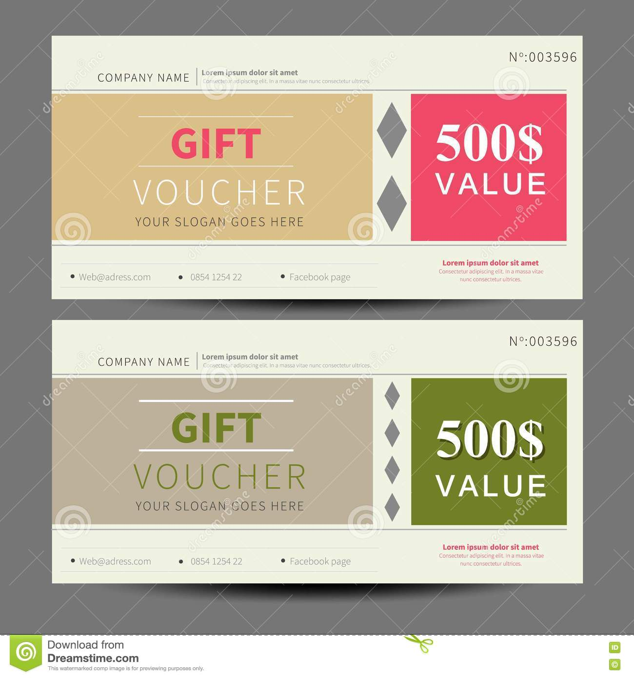 simple flat design vector certificate template stock vector gift voucher coupon template flat design stock photo
