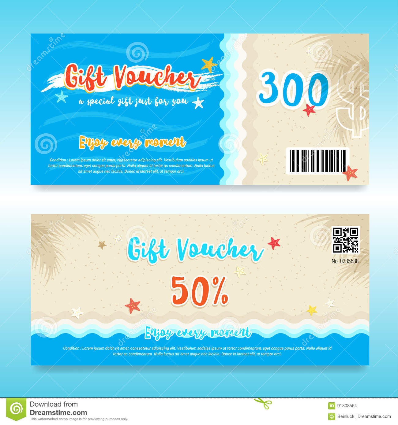 Beach Theme Card Stock