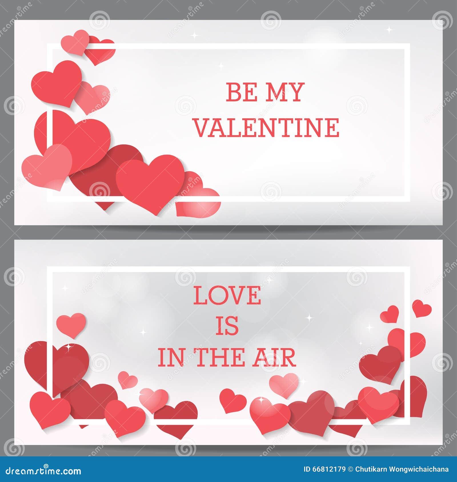 Gift Voucher Pink Valentine S Card Stock Illustration