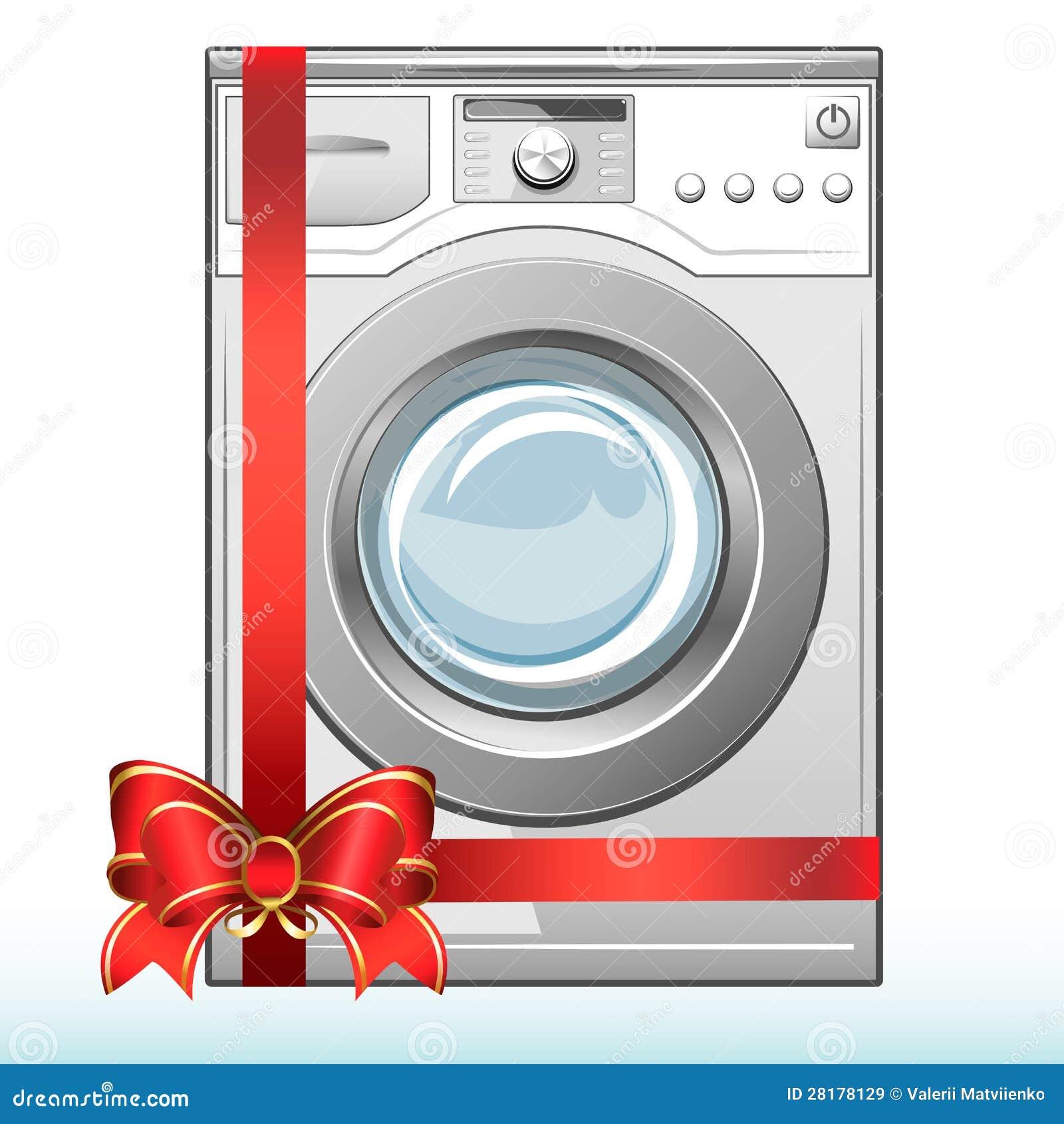 К стиральной машинке подарок