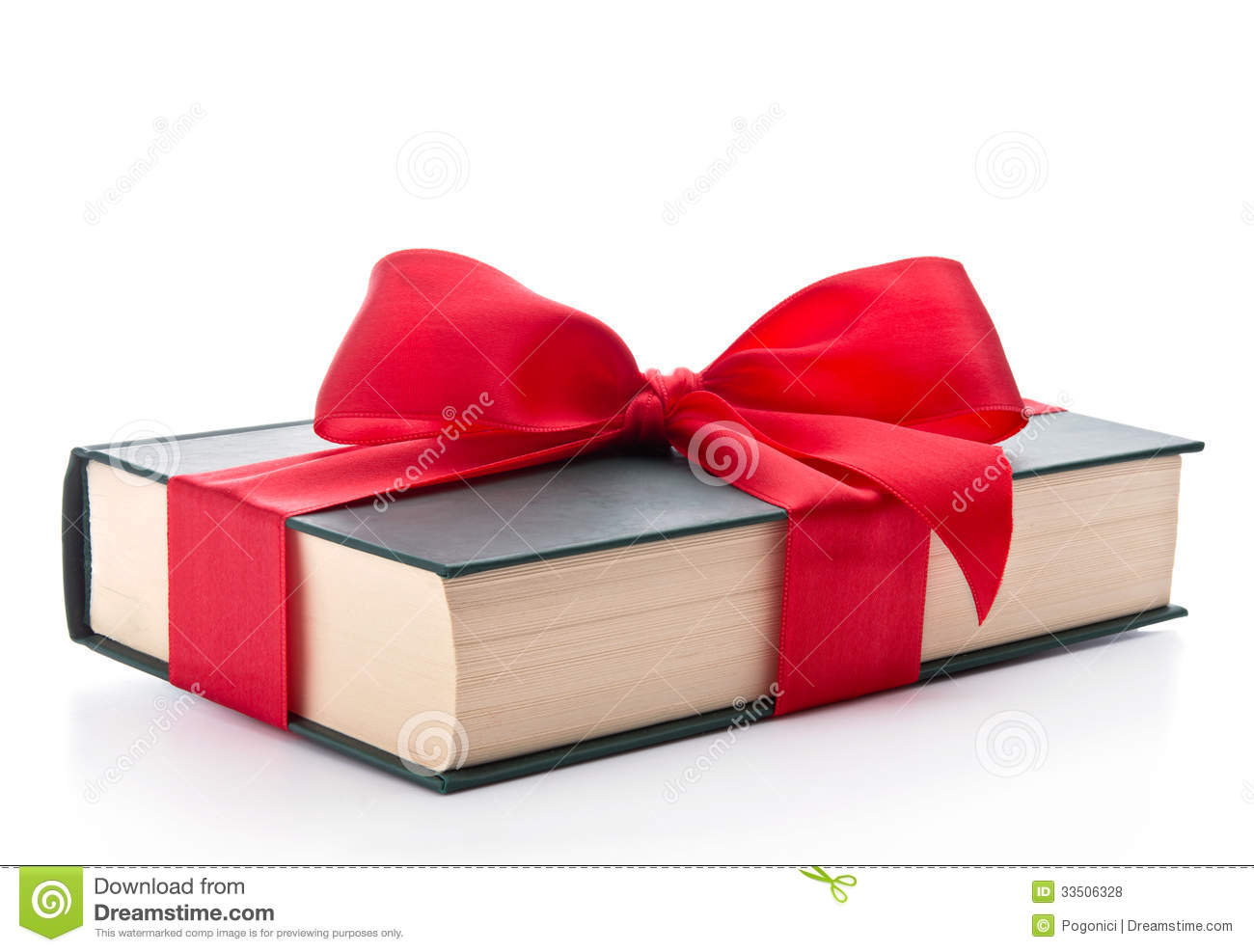 Gift Wrapped Book Royalty Free Stock Photos - Image: 33506328